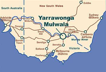 Yarrawonga Mulwala Map